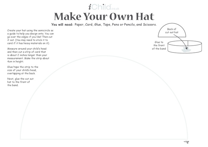 Thumbnail image for the Make a Hat Craft activity.
