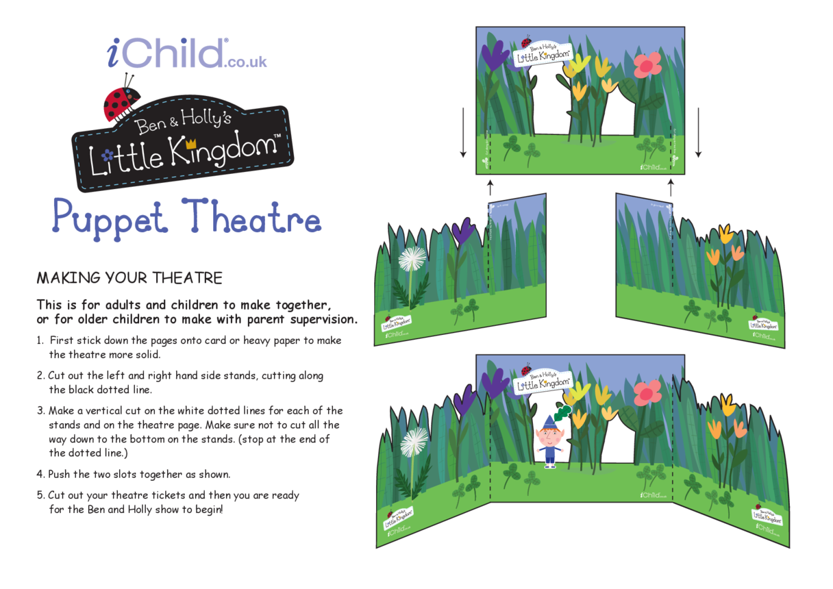 Finger Puppet Theatre: Ben & Holly's Little Kingdom