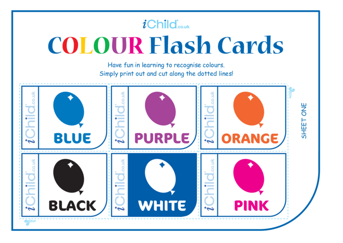 Thumbnail image for the Colour Flash Cards activity.