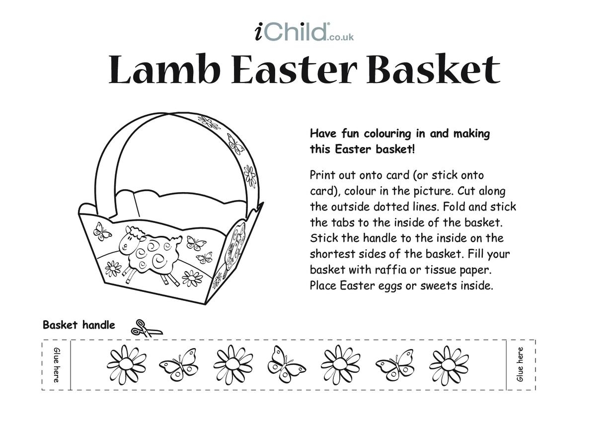 Basket - Lamb Easter