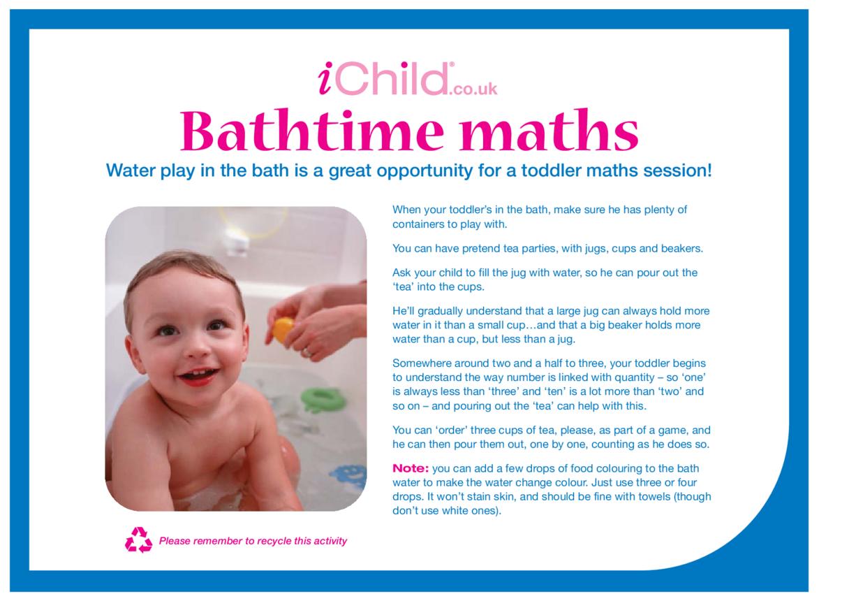 Bath Time Maths