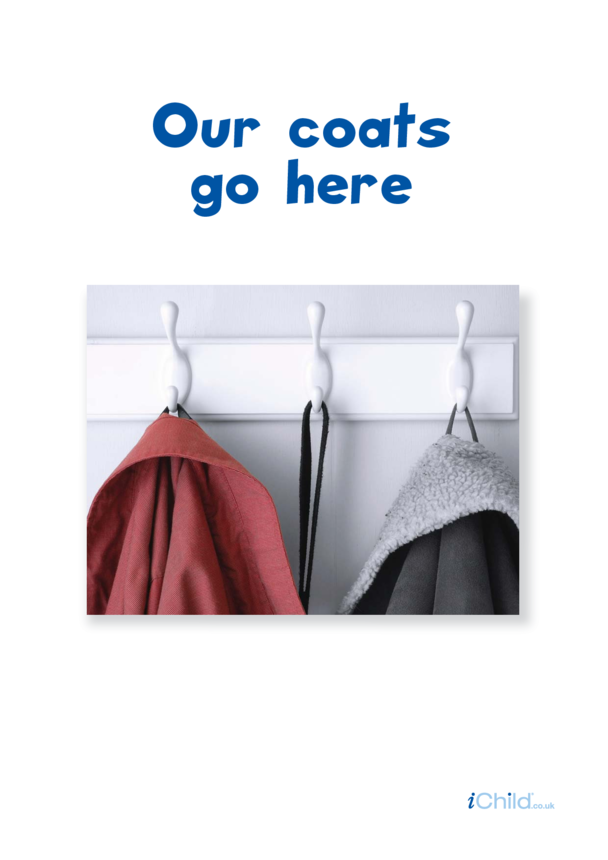 Our Coats Go Here Poster