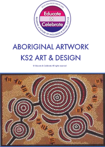 Thumbnail image for the Aboriginal Artwork KS2 - Educate & Celebrate  activity.