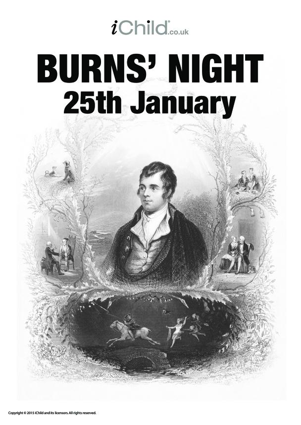 Burns' Night Poster