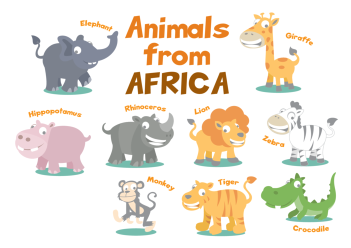 Thumbnail image for the Animals from Africa - Signs & Posters activity.