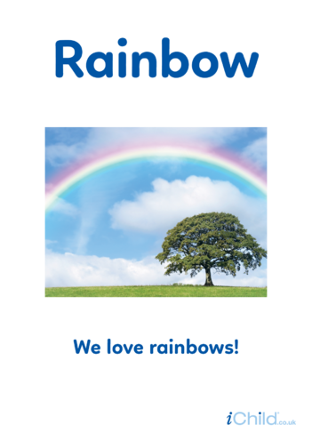 Thumbnail image for the Rainbow - Photo Poster activity.