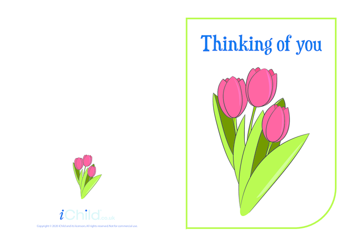 Thumbnail image for the Thinking of You activity.