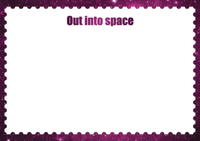 Thumbnail image for the Primary 4) Out Into Space Drawing Template activity.