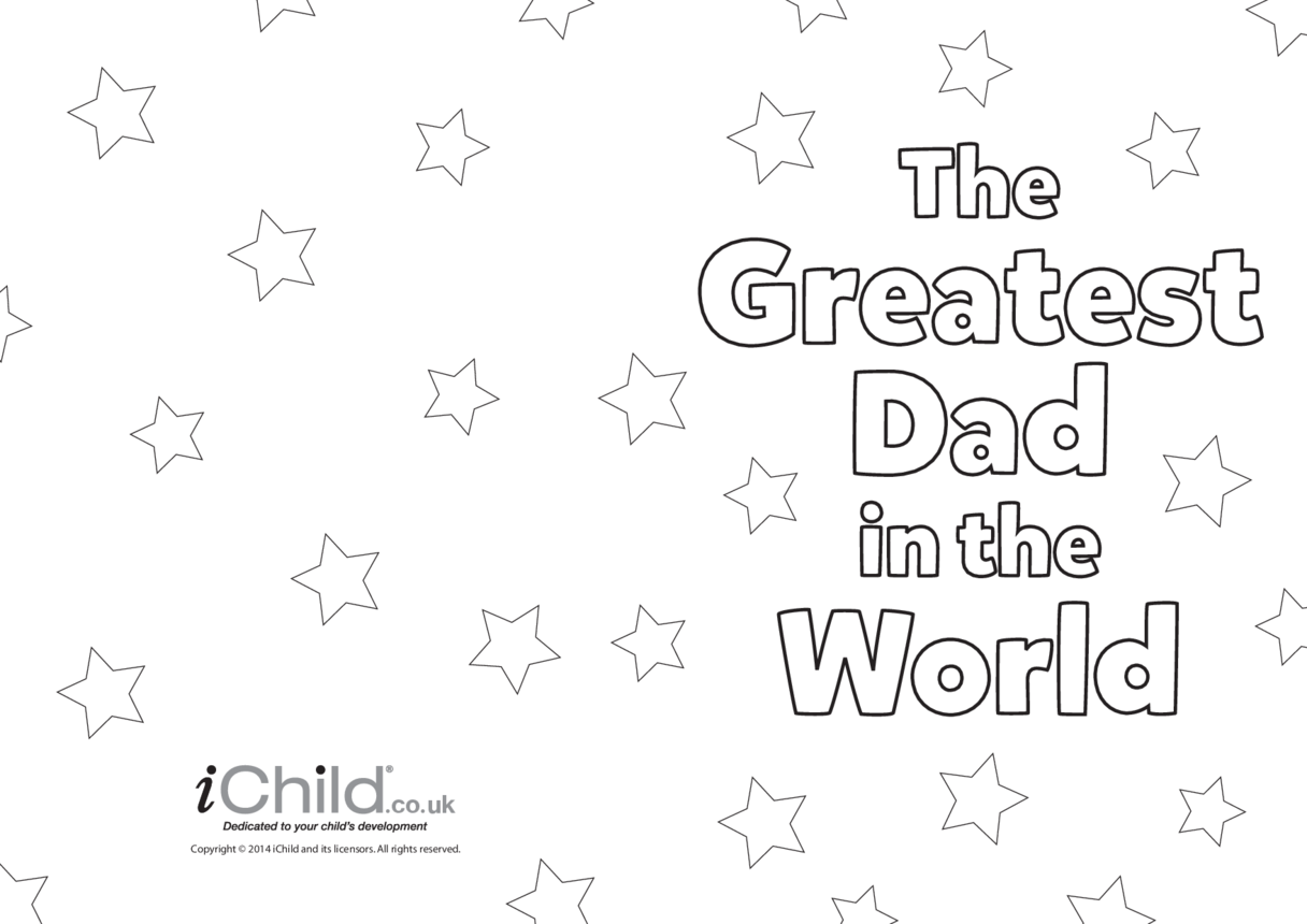 Greatest Dad in the World Father's Day Card