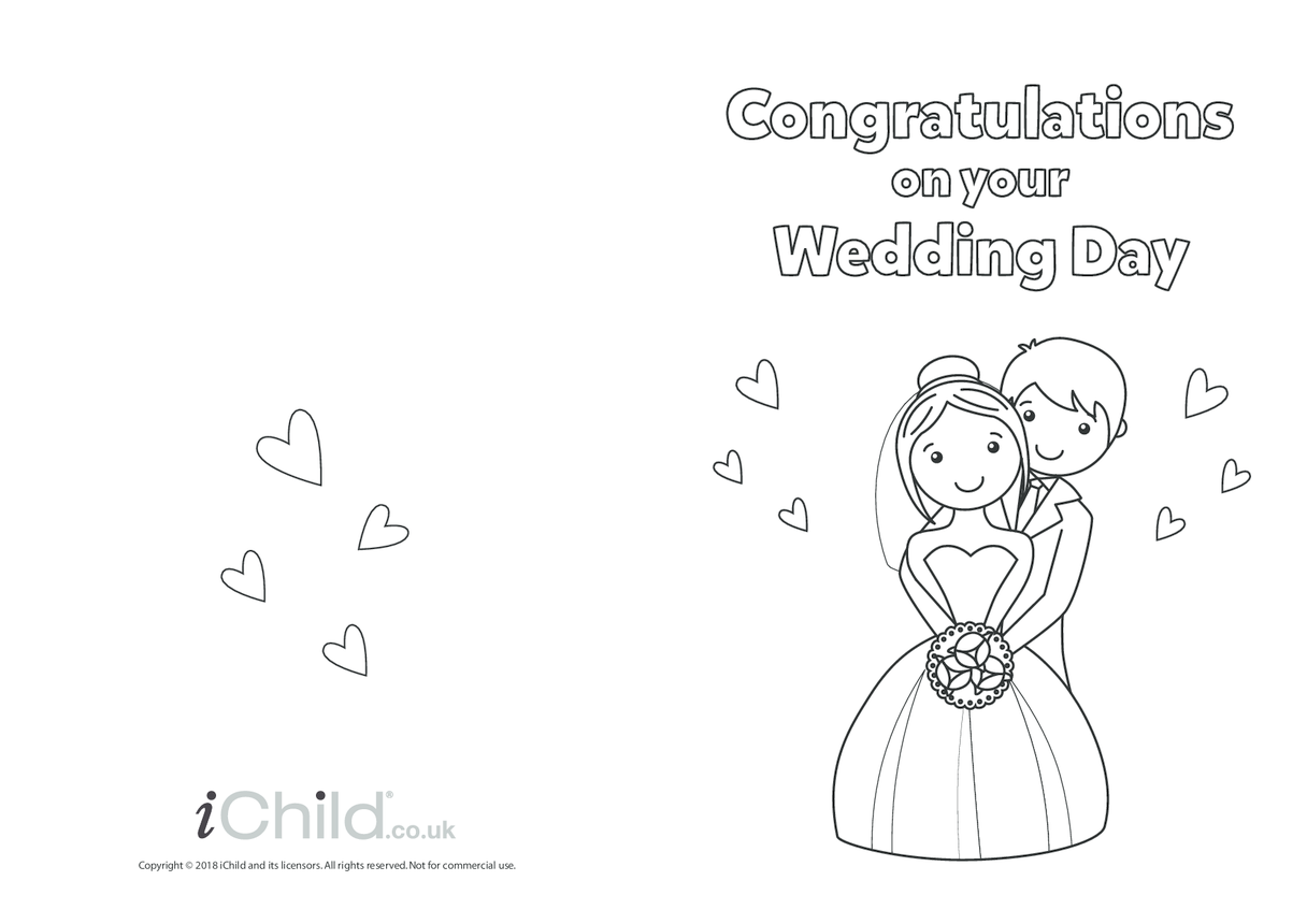 Congratulations on your Wedding Day - Card