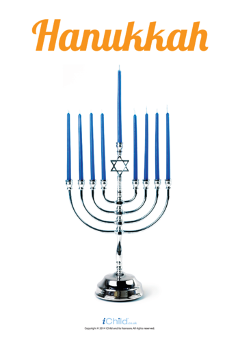 Thumbnail image for the Menorah Photo Poster activity.