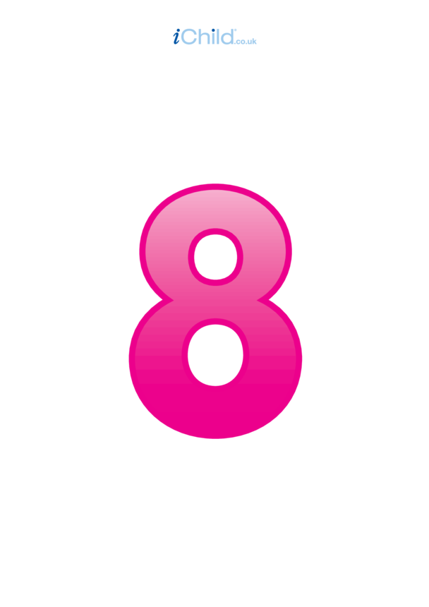 08: Number - 8 Poster