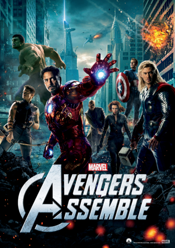 Thumbnail image for the Avengers Assemble Poster activity.