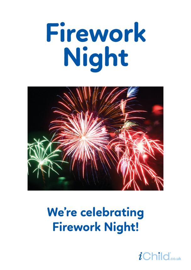 Firework Night - Photo Poster