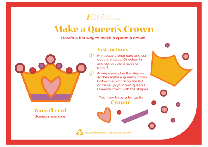 Thumbnail image for the Make a Queen's Crown activity.