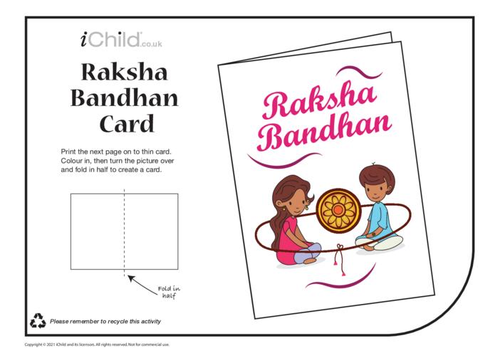 Thumbnail image for the Raksha Bandhan Card activity.