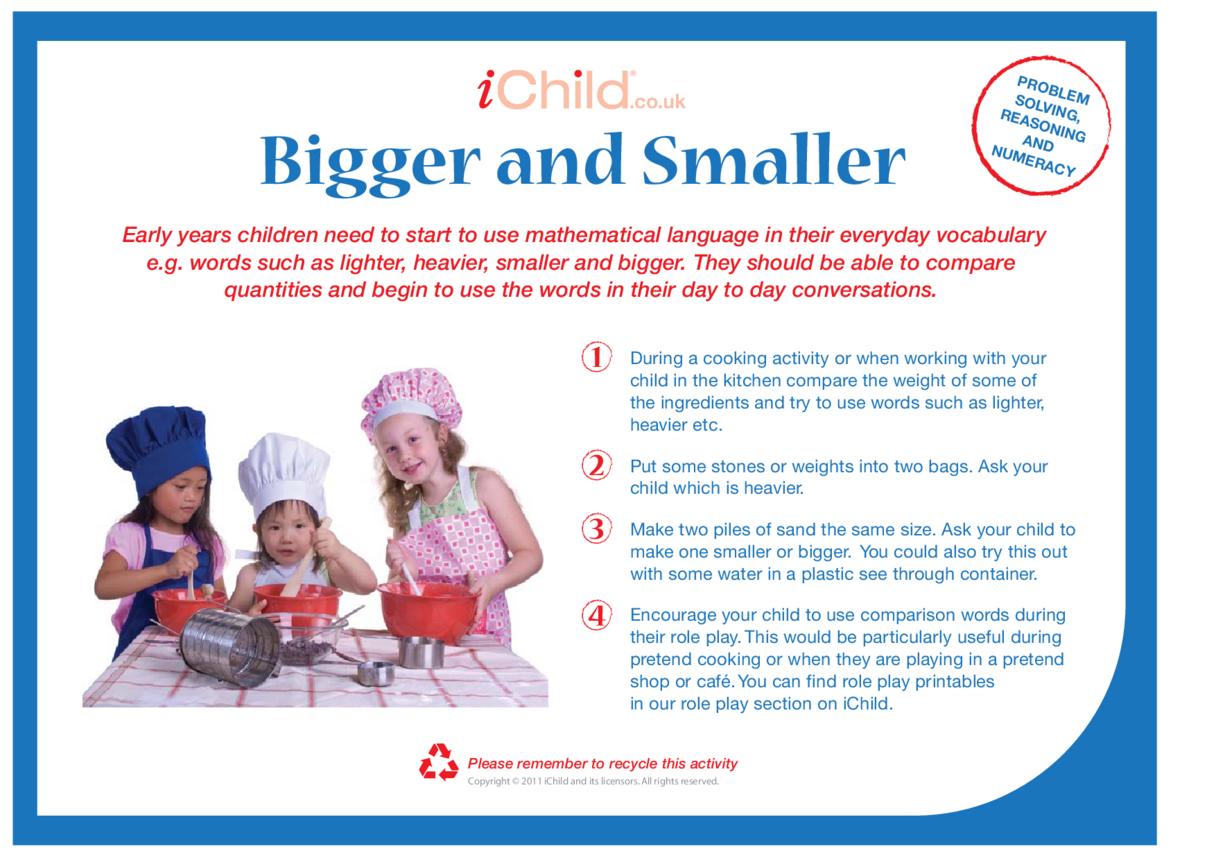 Bigger & Smaller