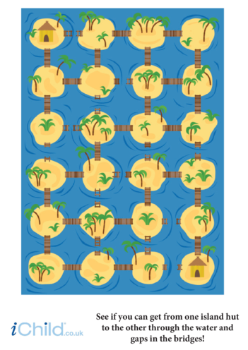 Thumbnail image for the Island Maze activity.