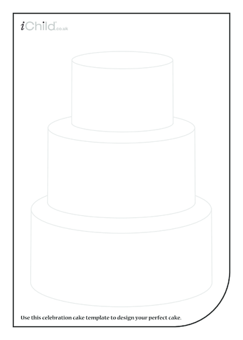 Thumbnail image for the Birthday Cake Template activity.