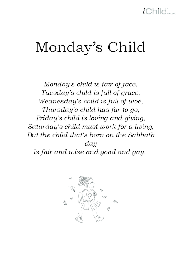 Monday's Child Lyrics