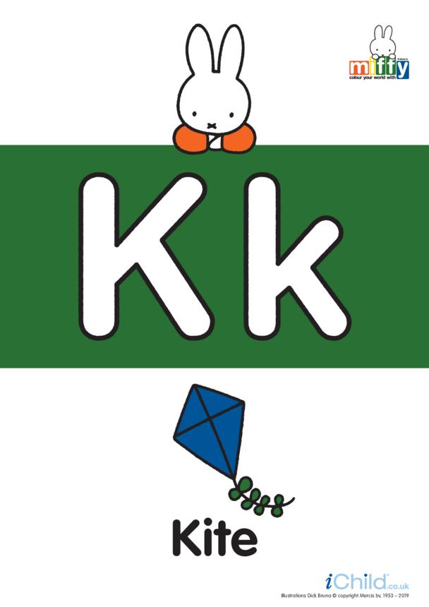 K: Miffy's Letter Kk