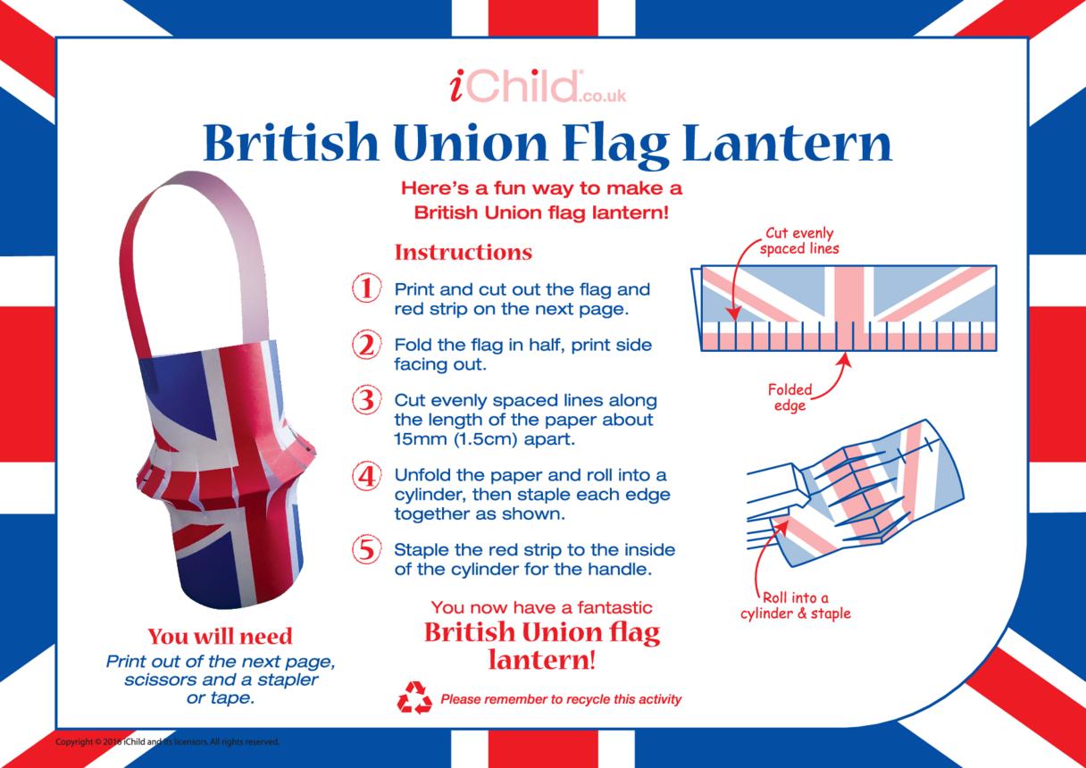 British Union (Union Jack) Lantern