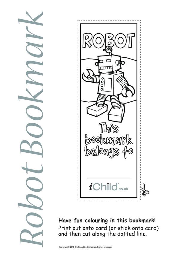 Robot Bookmark
