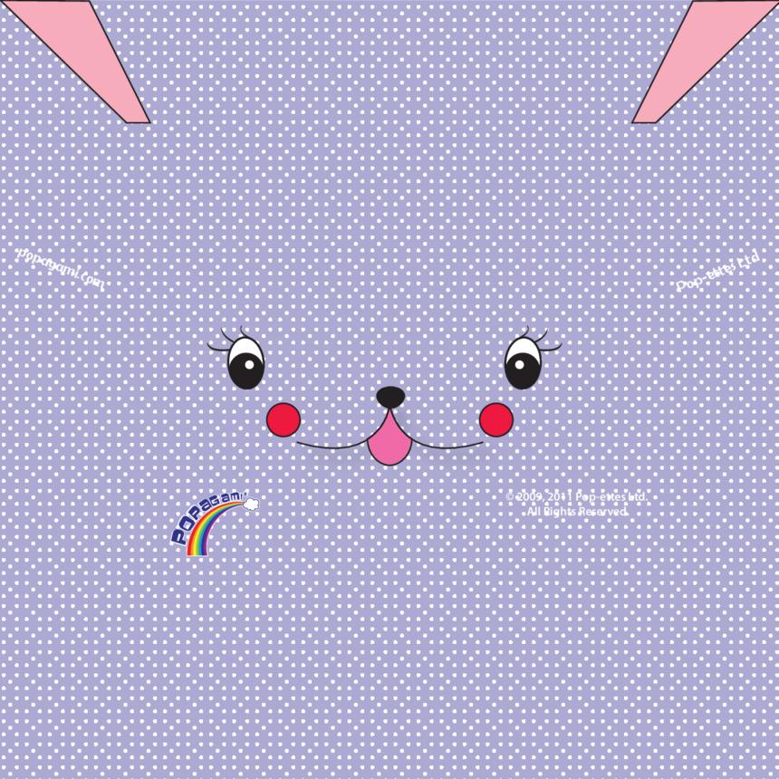 Origami/Popagami Purple Character