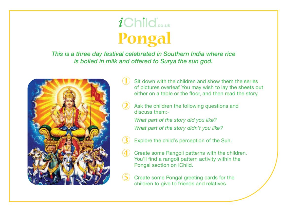 Pongal Religious Festival Story