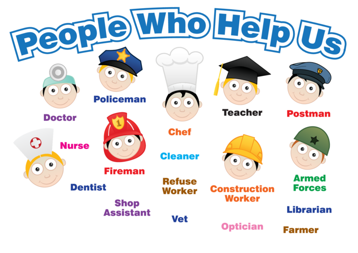 Thumbnail image for the People Who Help Us - Signs & Posters activity.