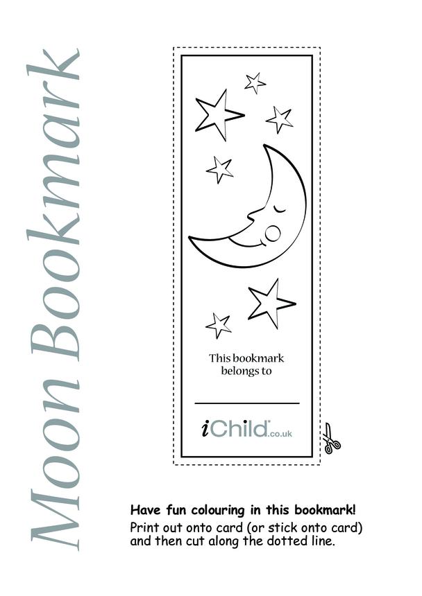 Moon Bookmark