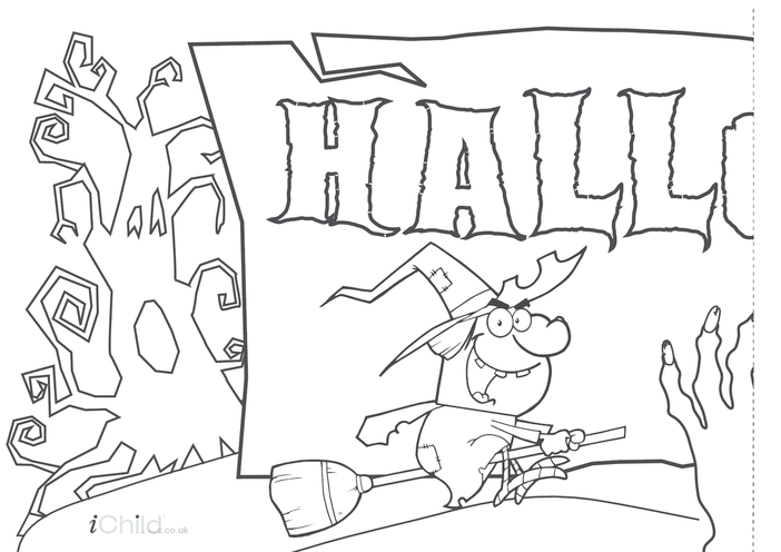 Thumbnail image for the Halloween Banner activity.