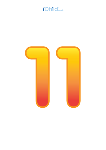 Thumbnail image for the 11: Number 11 - Poster activity.