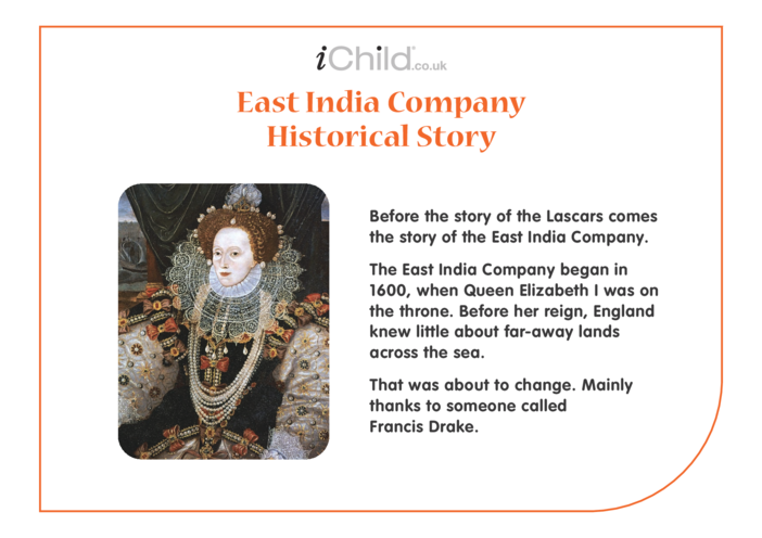Thumbnail image for the Lascars: East India Company Historical Story activity.