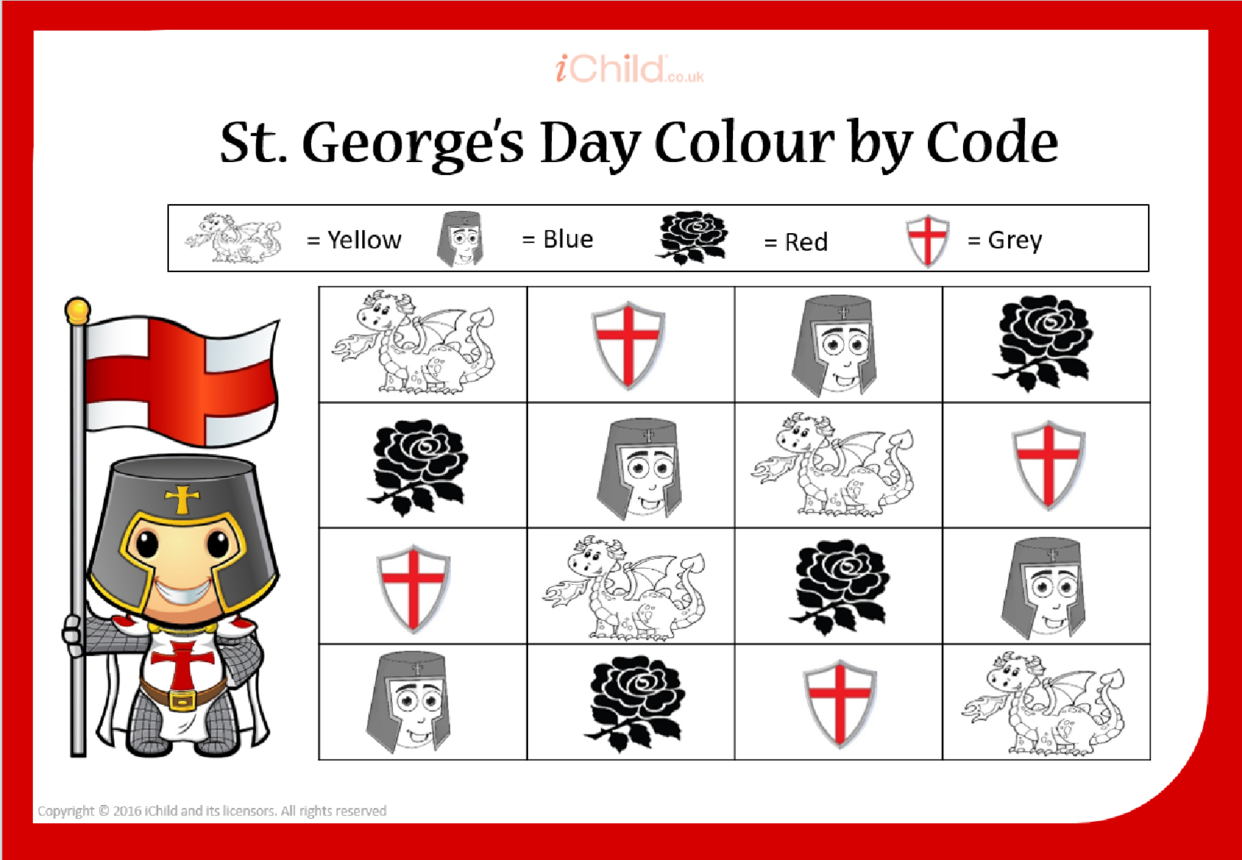 St. George Colour by Code