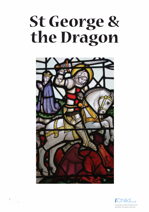 Poster of St. George & the Dragon
