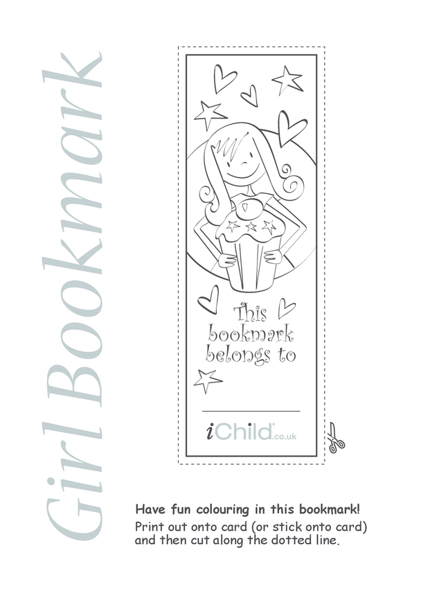 Girl Bookmark