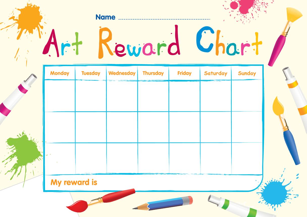 Art Reward Chart