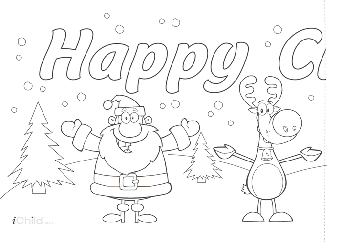 Thumbnail image for the Christmas Banner activity.