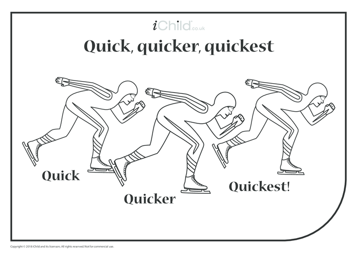 Thumbnail image for the Quick, Quicker, Quickest Speed Skaters activity.
