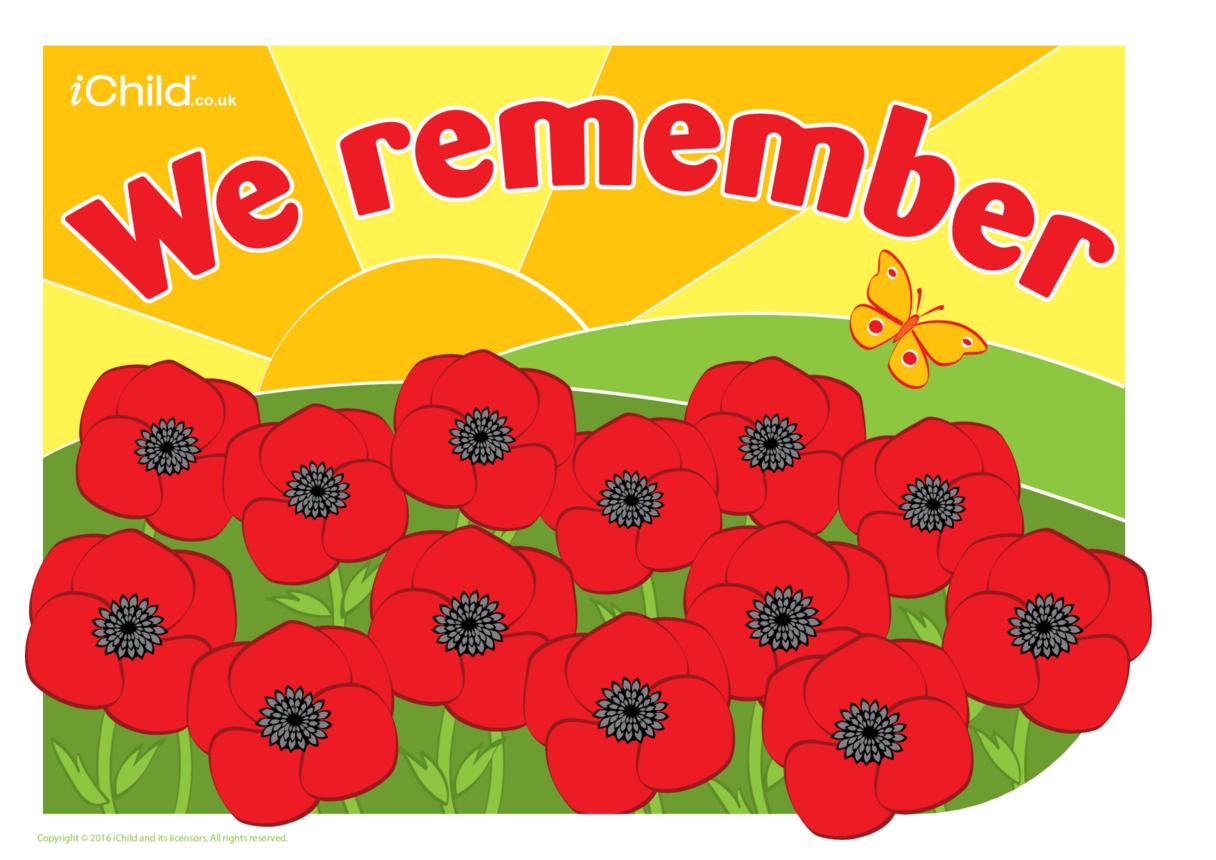 We Remember Poster