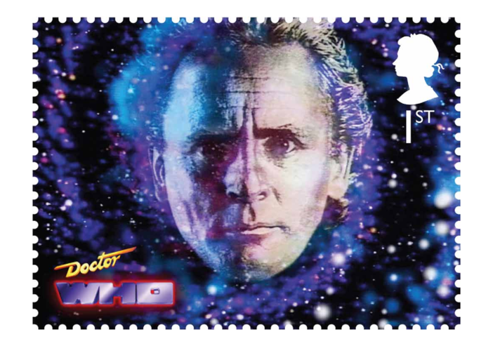 Thumbnail image for the The 7th Doctor- Sylvester McCoy Stamp Image activity.