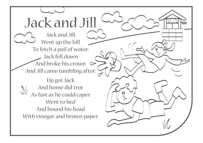 Thumbnail image for the Jack and Jill Lyrics activity.