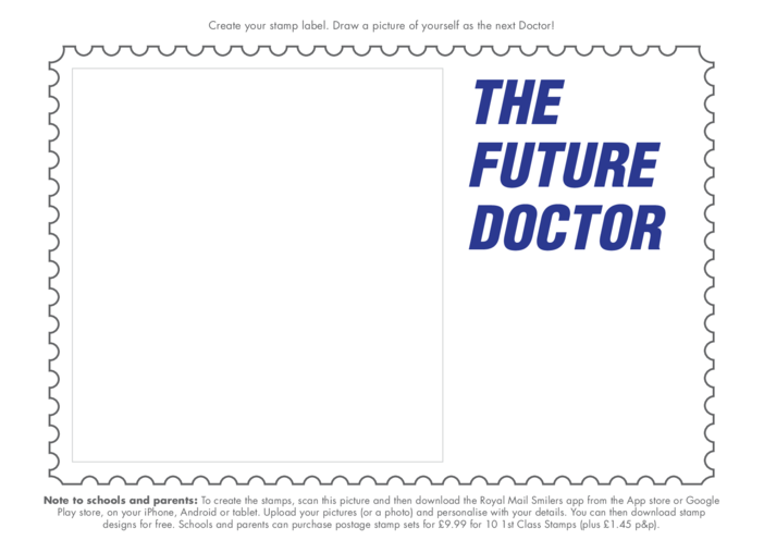 Thumbnail image for the Primary 1) Time Travel- The Future Doctor Drawing Template activity.