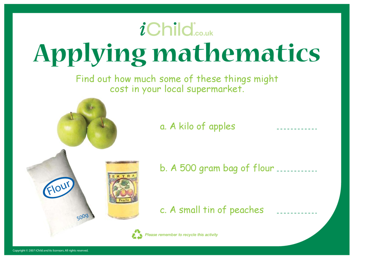 Applying Mathematics