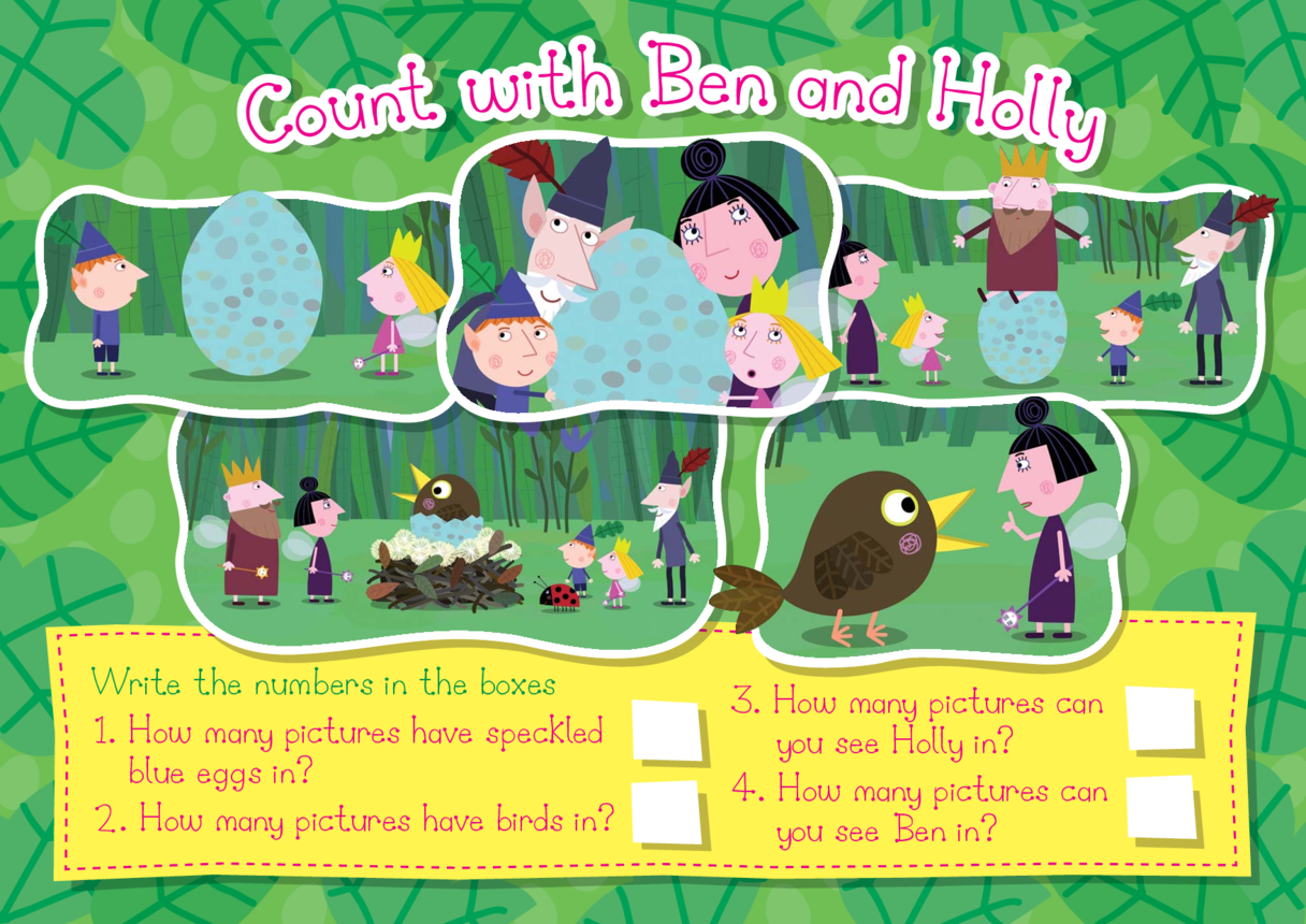 Count with Ben & Holly