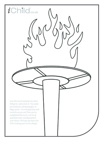 Thumbnail image for the Torch Collage activity.