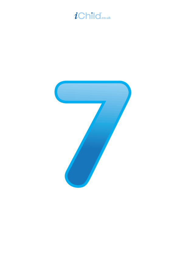 07: Number 7 - Poster