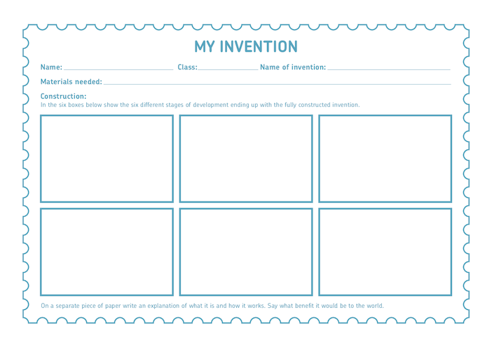 Thumbnail image for the Royal Mail iStamp 'My Invention' Activtiy activity.