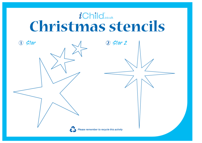 Thumbnail image for the Christmas Stencils activity.
